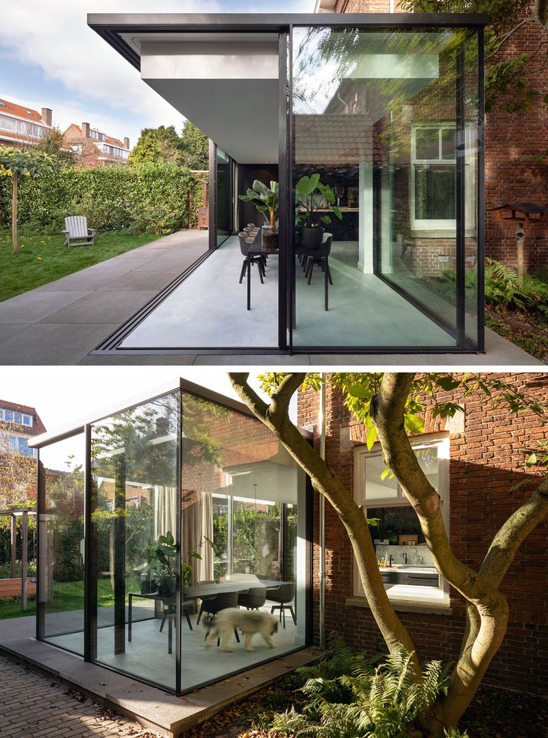 A Contemporary Extension For This 1920s House In The Netherlands House Extension Design 1920s House House Extensions