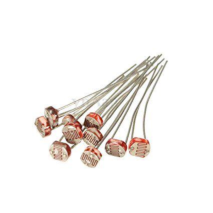 10x GL5506 Photoresistor LDR 5mm Light Dependent Resistor Sensor for ...