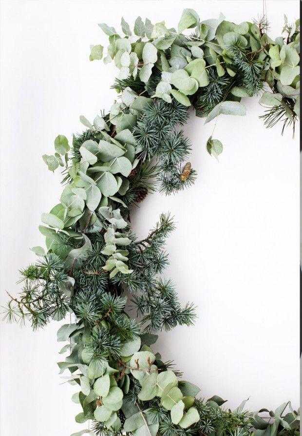 julekrans dorkrans christmas decoration 2015 green