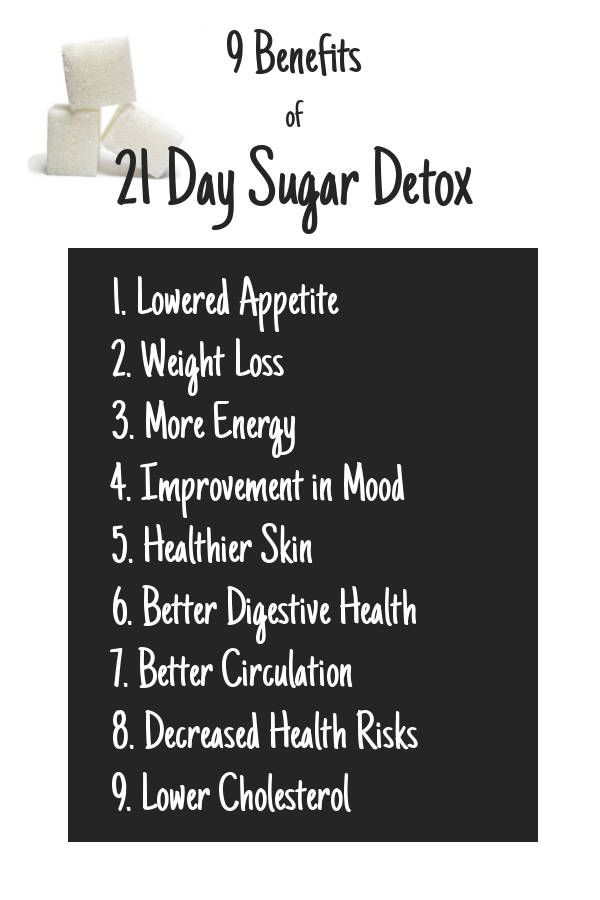 benefits of cutting sugar from your diet