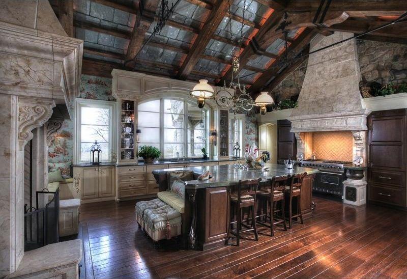 Interesting Kitchen - notice the fireplace seat | Kitchen ... on kitchen island sink ideas, kitchen dinning room ideas, kitchen sitting area ideas,