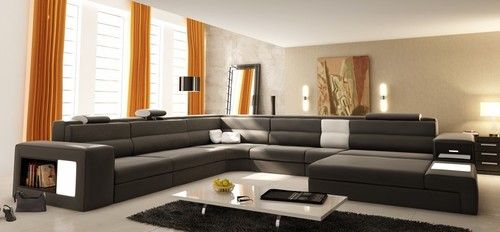 Great Looking Room The Sofa Looks Uncomfortable Modern Sofa
