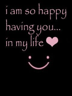 i am so happy with you quotes