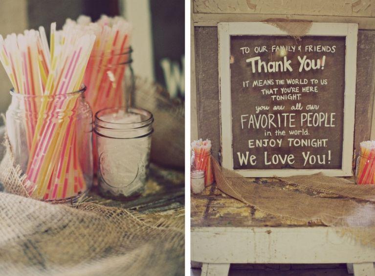 glow stick wedding photography