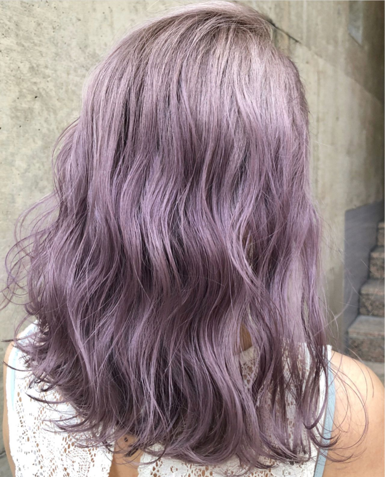 Lavender Pearl 大人気のラベンダーカラー ツヤツヤ透明感