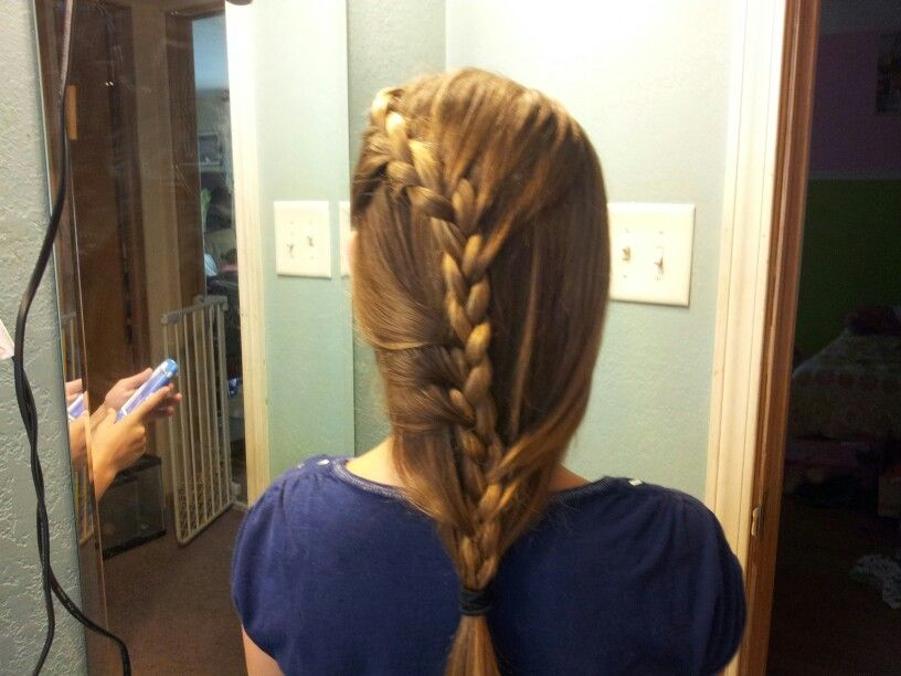Did my cousins hair today :)