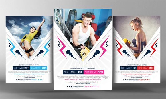 Fitness Flyer Template  Marketing    Flyer Template