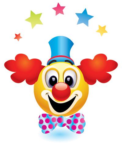Clown Emoticon Smiley Emoticon Smiley Emoji