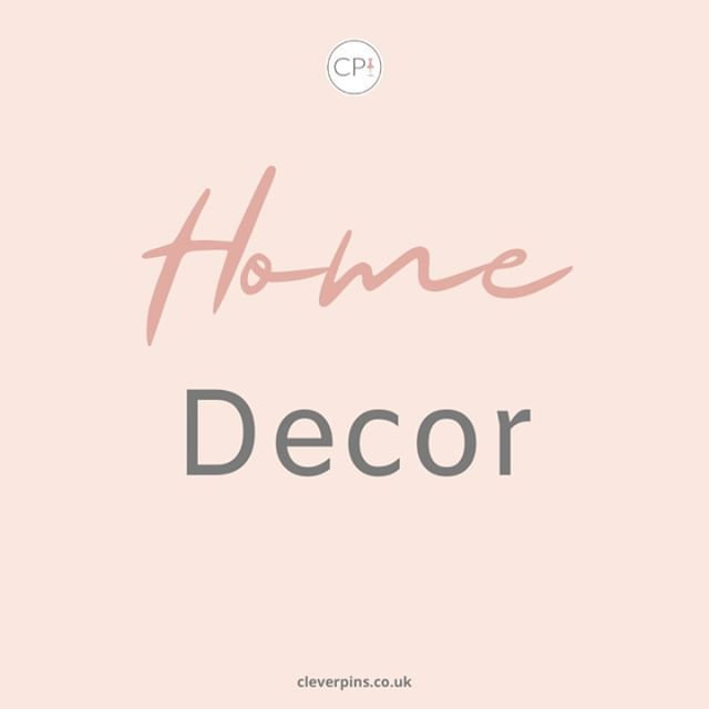 Pinterest and Home decor