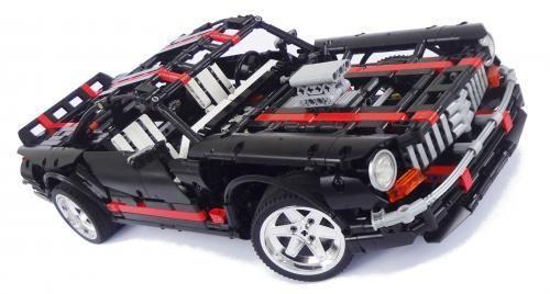 Black American Muscle Car Lego Lego Cars Instructions