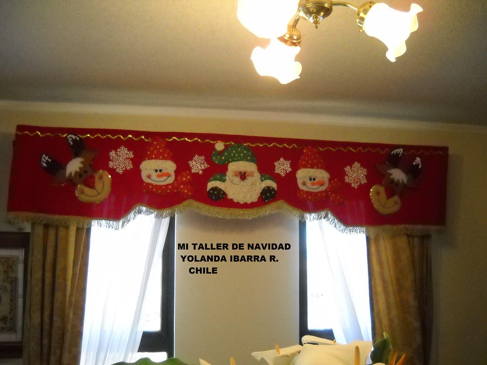 Cenefa navide a cortinas pinterest search happy for Cenefas para cortinas
