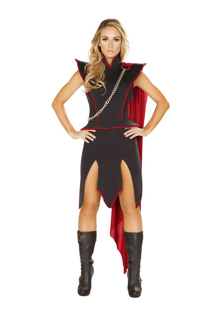 Halloween Costume Girl/'s Red Ninja  Medium or Large