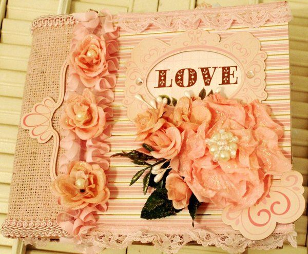 Twag Scrapbookgiggles Paper Bag Mini Album 7x8 Pretty Premade