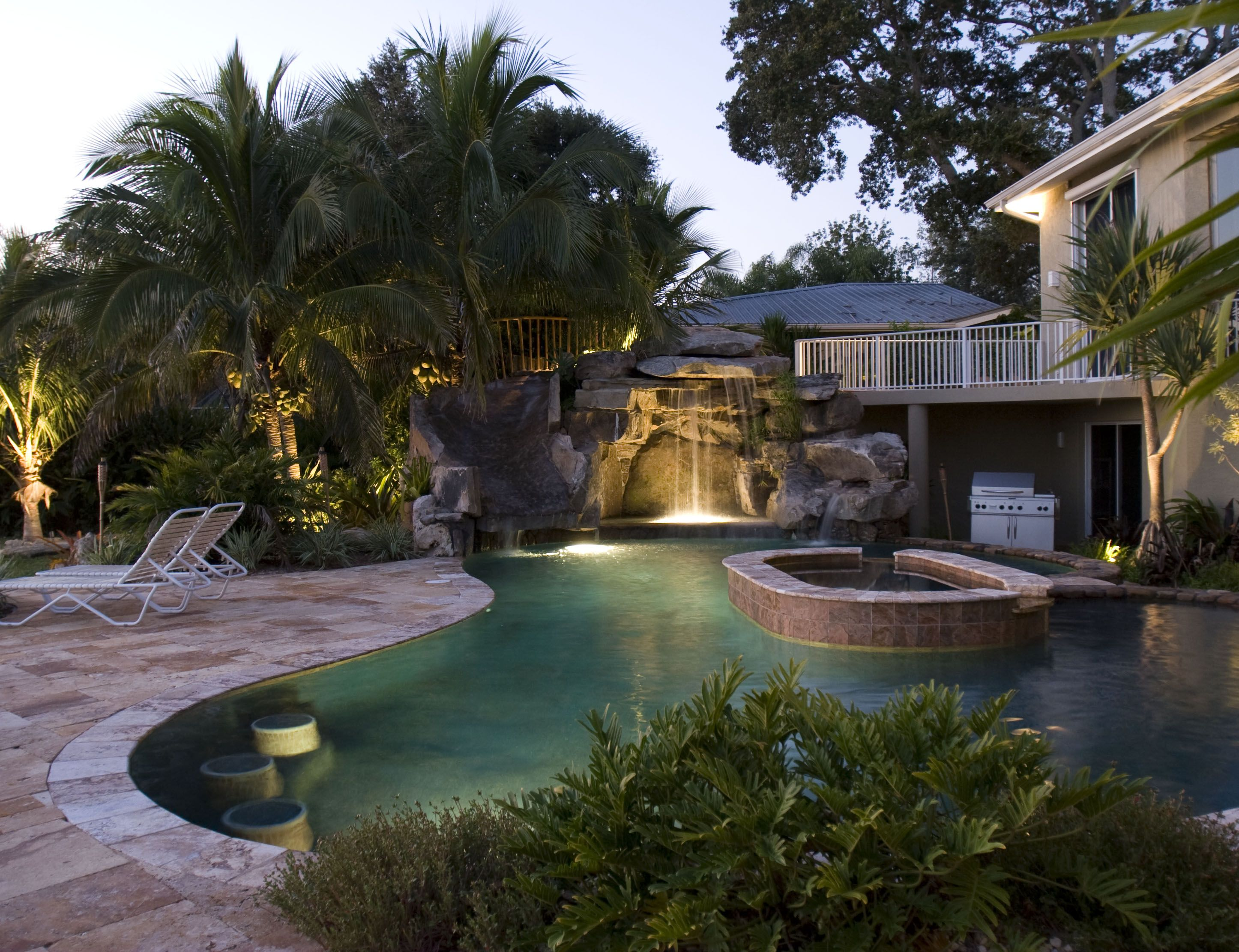 Pin by the adventures of danger dave on amazing yards for Design my own pool