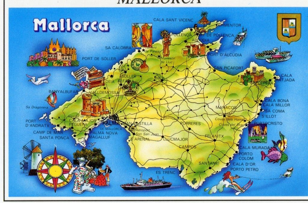 Mallorca Map What To See Mallorca Island Mallorca Travel Fun