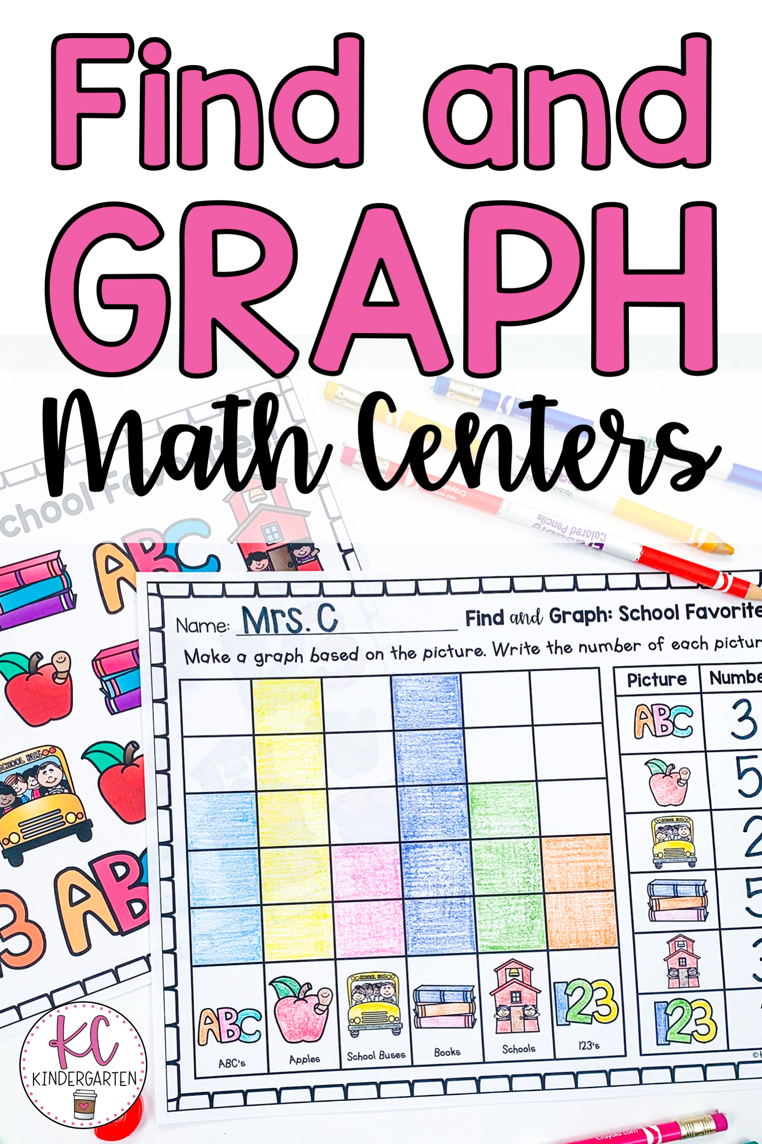Graphing Math Centers In