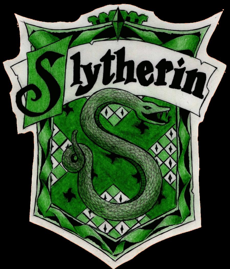 Elegant Harry Potter House Logos Slytherin 3.png (900×1051)