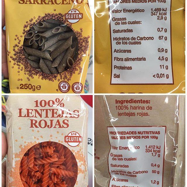 Macarrón De Trigo Sarraceno Espirales 100 Lentejas Rojas Hacendado Novedad En Mercadona Supermercado Lentejas Nutritivo Alimentacion Saludable