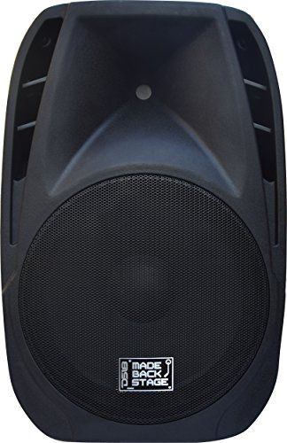 DS18 MB-PW15BT Made Backstage Series 15-Inch 2-Way 2000-Watt Max Powered Loud Speaker with Bluetooth, MP3, USB, SD and FM Radio   DS18 MB-PW15BT Made Backstage Series 15-Inch 2-Way 2000-Watt Max Powered Loud Speaker with Bluetooth, MP3, USB, SD and FM Radio The new DS18 MADE BACKSTAGE Series is manufactured with the best speaker components in the market at the most affordable prices. We believe that everyone deserves to be backstage without paying backstage pricing.  http://www.ins..
