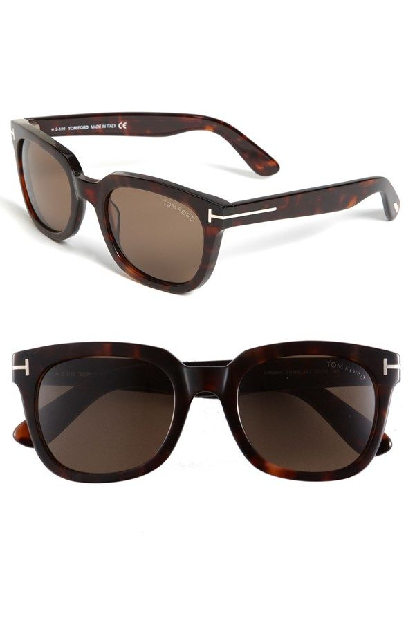 Tom Ford Campbell Tortoise Sunglasses | Accessories | Pinterest | Tortoise, Tom ford and Toms