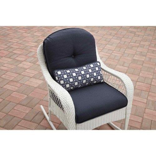 Better Homes And Gardens Azalea Ridge Wicker Outdoor Rocking Chair