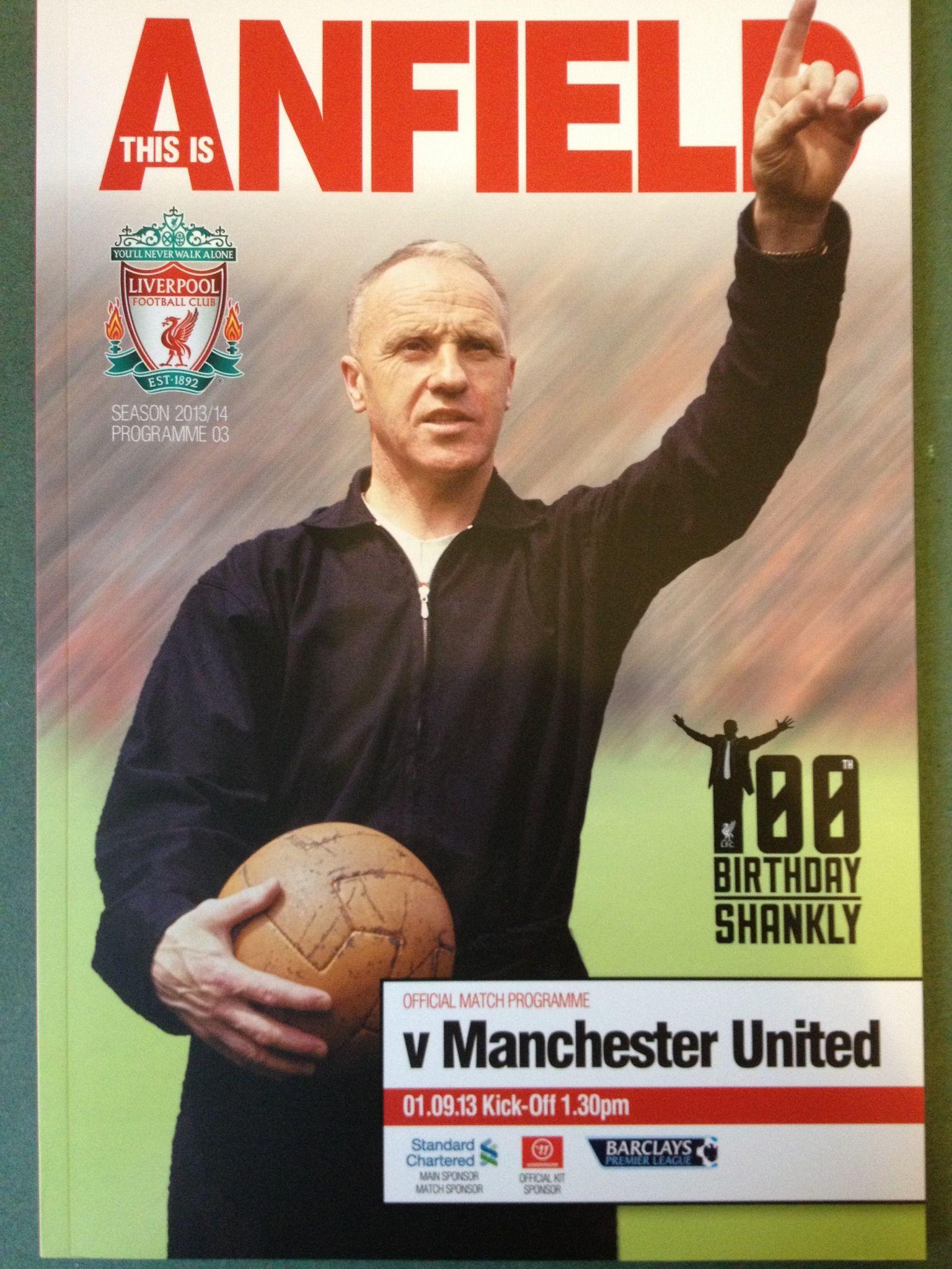 1/9/2013 Liverpool v Manchester United