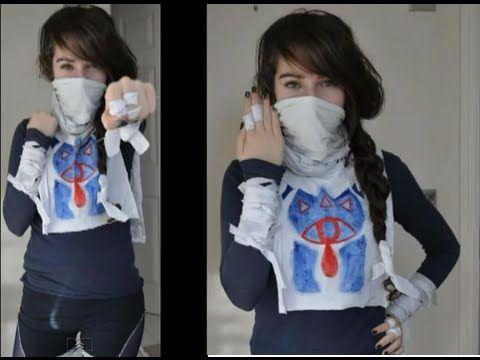 How To Make Sheik Costume Cosplay Legend Of Zelda Easy Quick