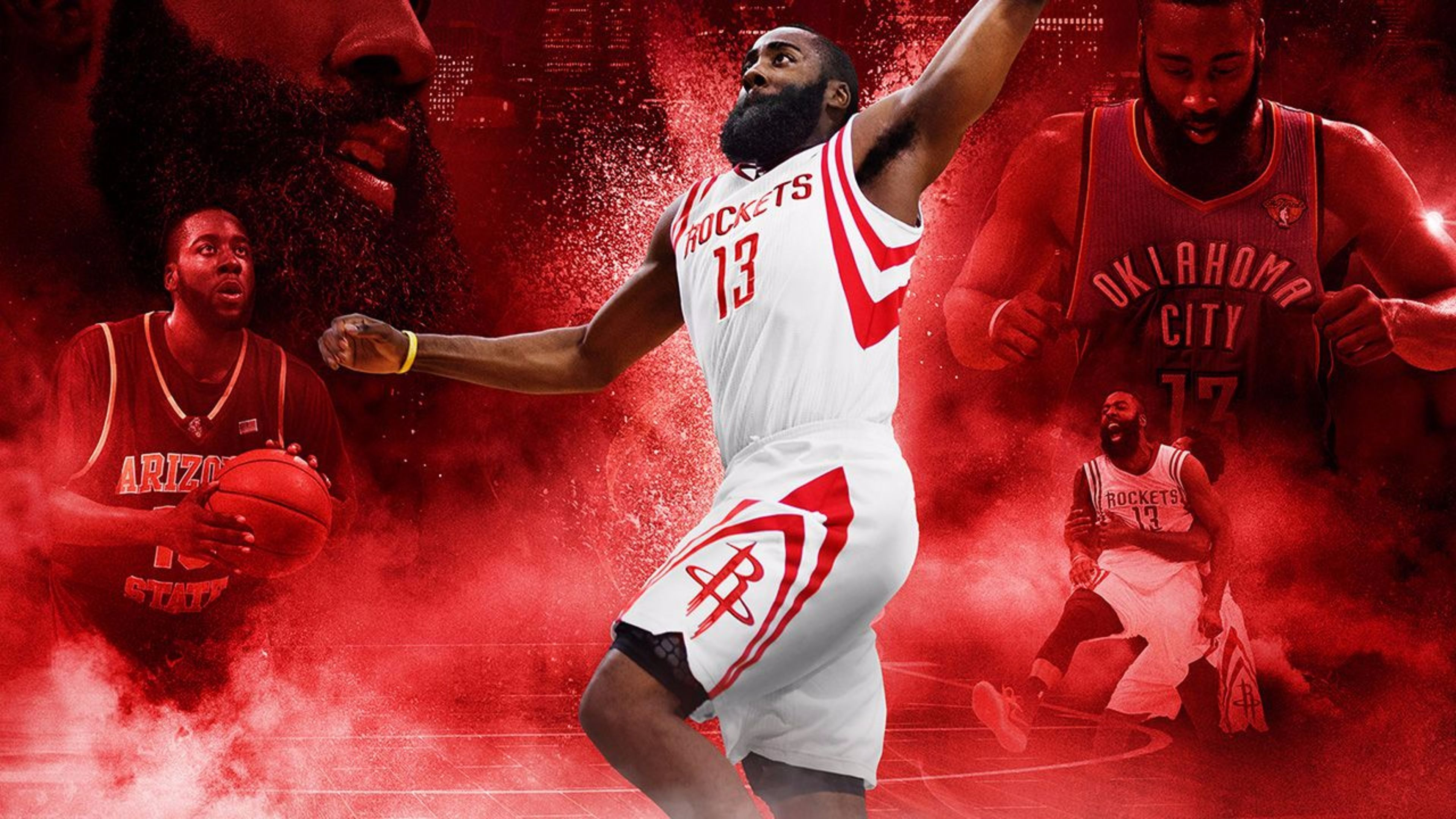 James Harden Full Hd Background 3840x2160 James Harden James Wallpaper Backgrounds