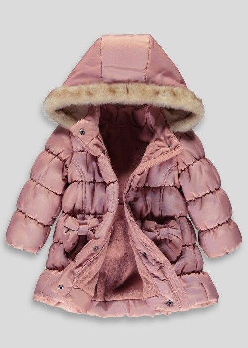 search for authentic fashionable patterns classic Girls matalan coat | Girls fashion | Girls bows, Winter ...