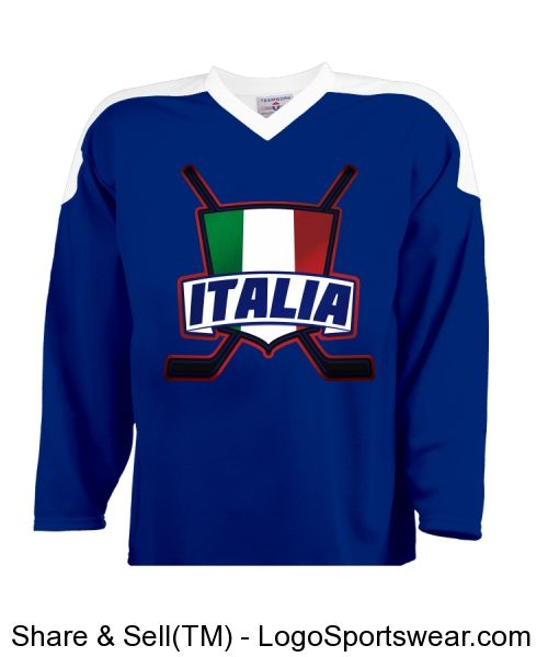 Team  Italy  Italia Customizable  Hockey Jersey. Check out my store  http f8048074843