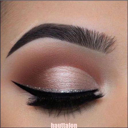 Glitter Eyeliner ist eine der subtilen Möglichkeiten, einem Look Glitzer zu verleihen! ... - Glitt