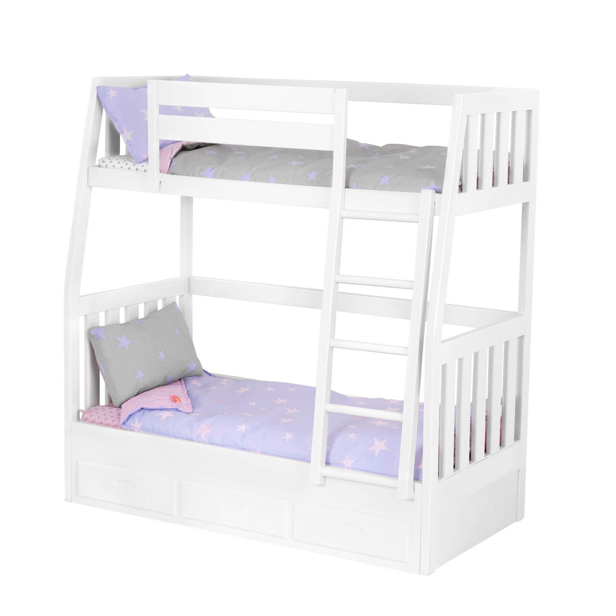 Our Generation Bunk Bed Doll Accessories Doll Bunk Beds American Girl Doll Bed American Girl Beds