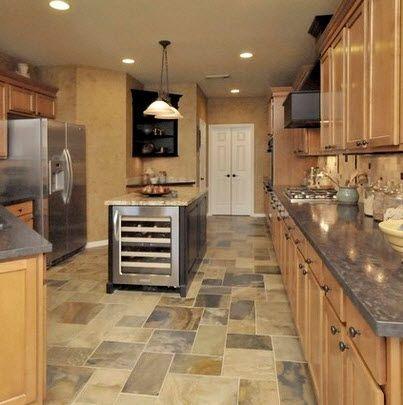 Dise os y tipos de pisos para cocina para que elijas el - Ceramica rustica para suelos ...
