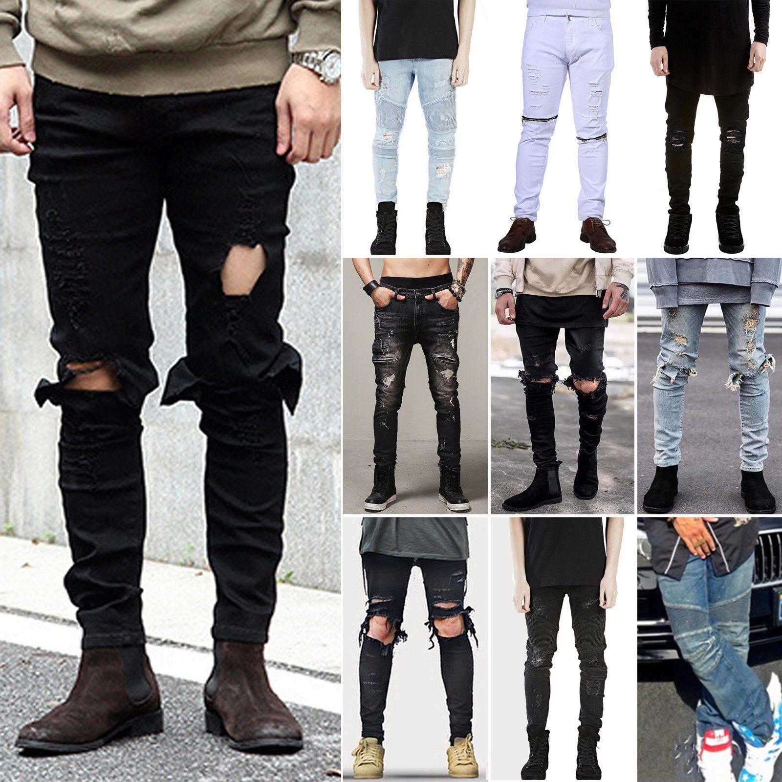 Melodican Imigracija Nijedan Pantalones Jeans Pitillos Rasgados Para Hombres Herbandedi Org