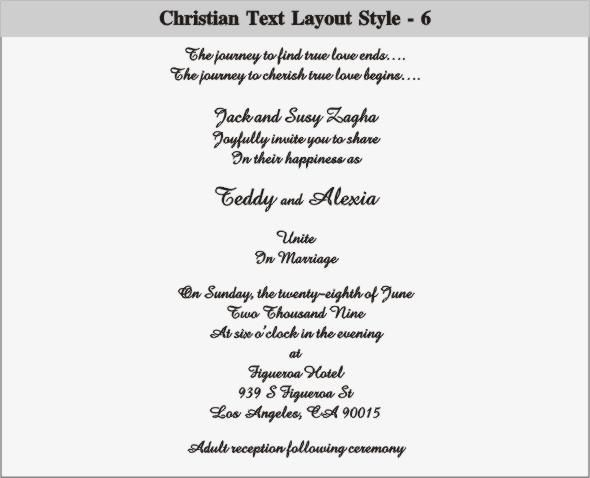 christian wedding invitations to express your faith in godu002639s - best of invitation wording ideas for graduation party