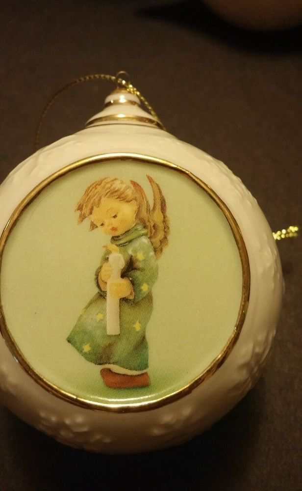 Rare Danbury Mint M.I. Hummel Christmas Ornament | Ceramic ...