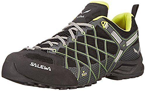 Salewa Mens Wildfire S GTX Shoes Black  Ciitro 13  Etip Lite Gripper Glove Bundle >>> Click image to review more details.