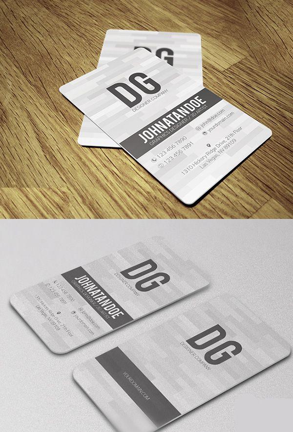 Simple Creative Business Card #businesscards | Business Cards Design ...