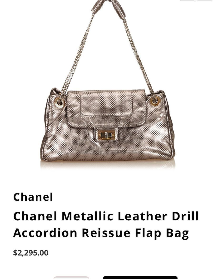 Chanel Reissue Now Online
