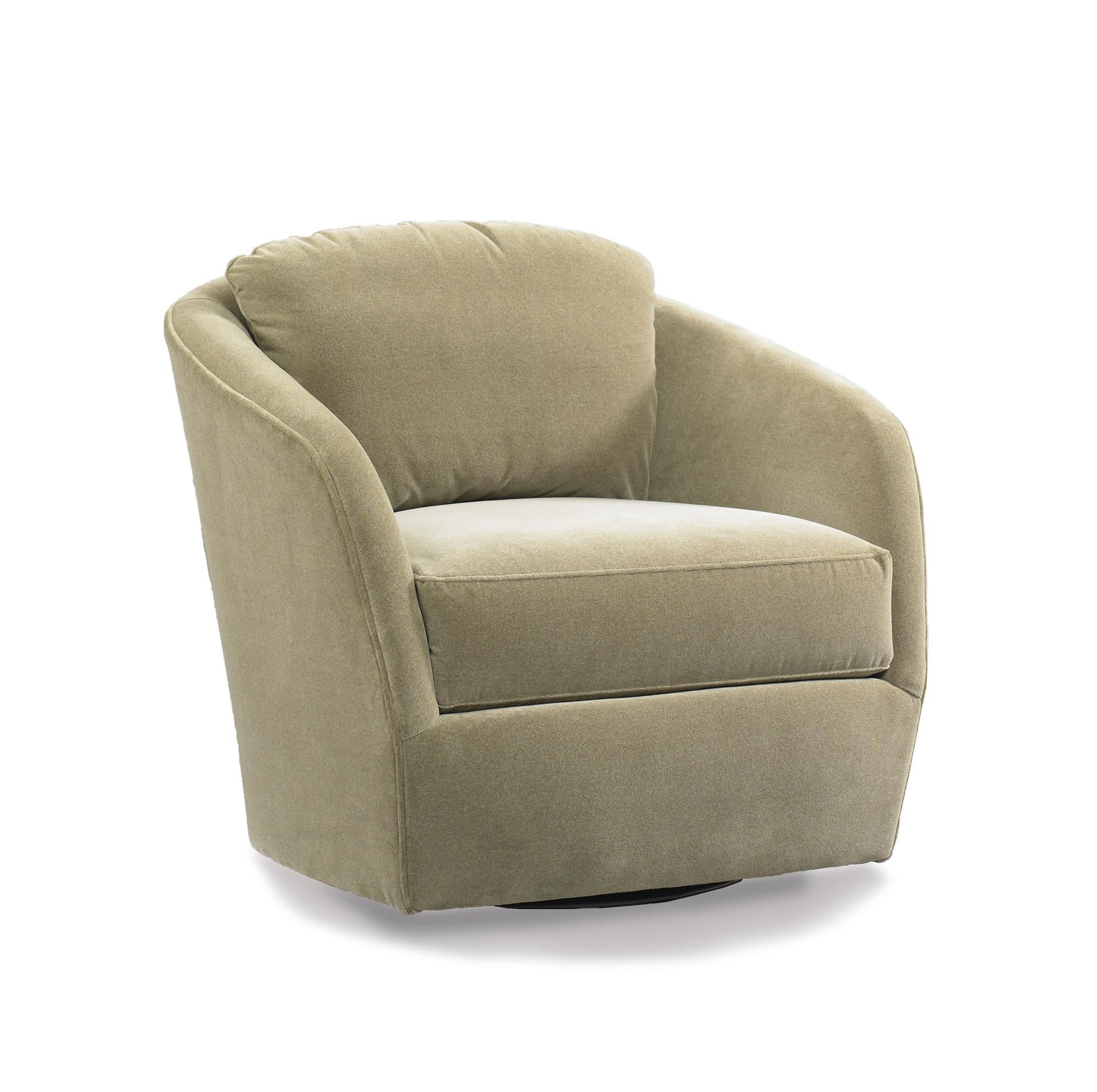 American Made Gordon Swivel Accent Chair Stylish Chairs Swivel