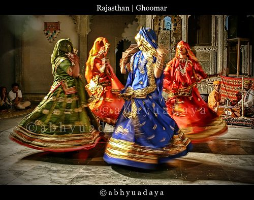Rajasthani Ghoomar Dance Classical+Rajasthani+F...