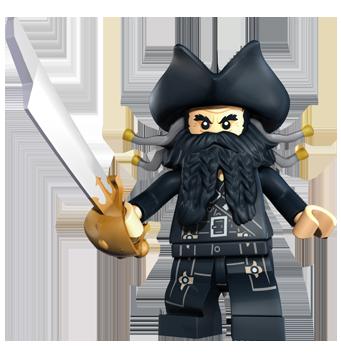 LEGO PIRATES minifig figurine personnage