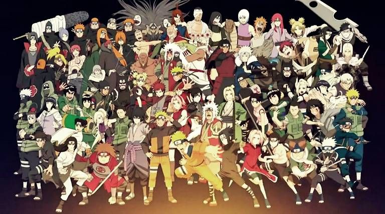 Image Result For All Characters In Naruto Naruto Shippuden Characters Naruto Characters Naruto Shippuden Anime