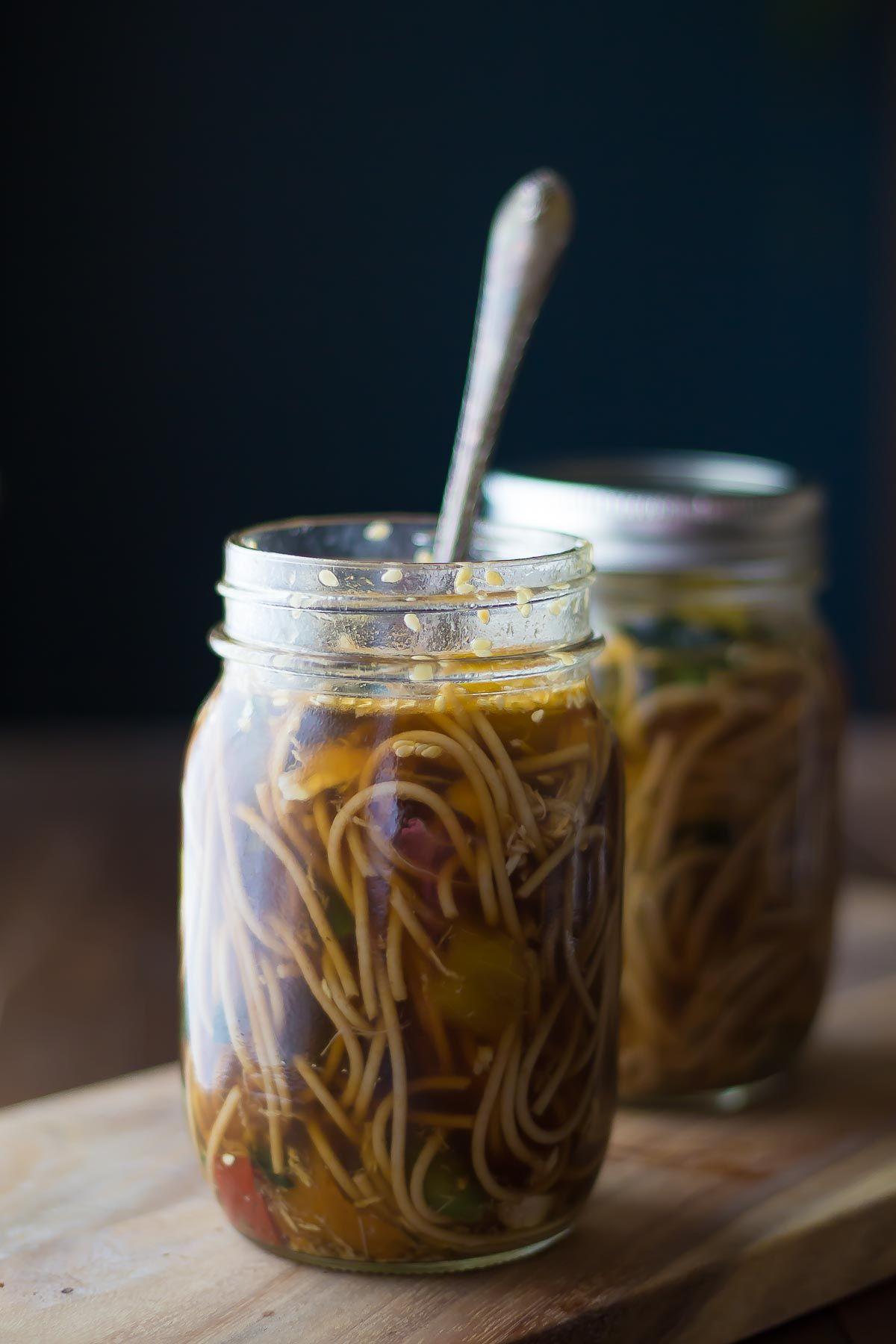 Healthy homemade instant noodles sesame ginger recipe homemade healthy homemade instant noodles sesame ginger forumfinder Images