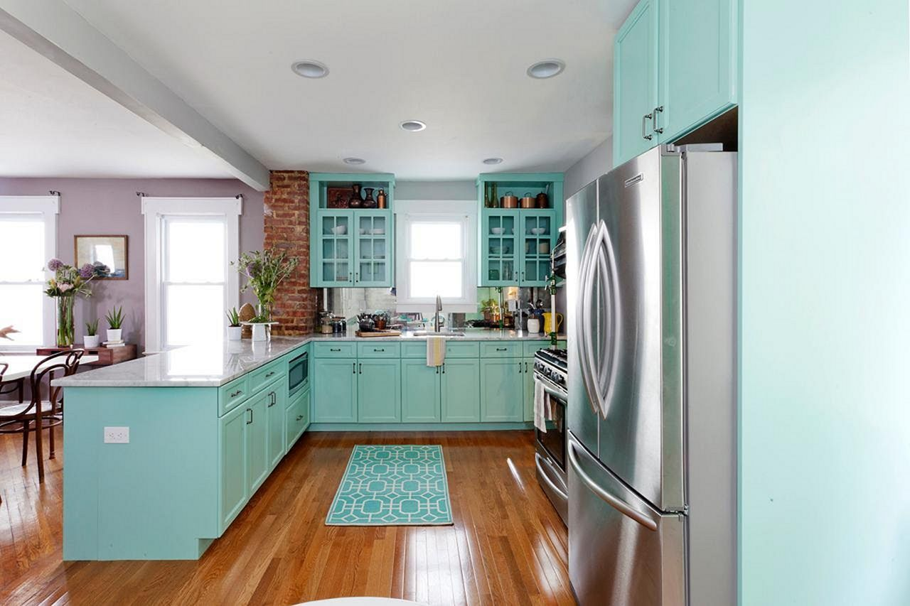 15 Turquoise Kitchen Design Ideas That Inspire You in 2020 ...
