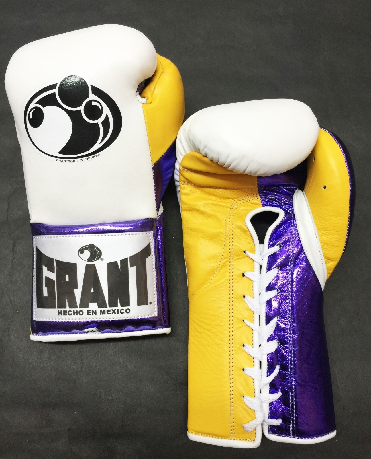 6f0e46b90c4 Grant Boxing Custom 10 oz Pro Fight Gloves GGG La Colorway Authentic
