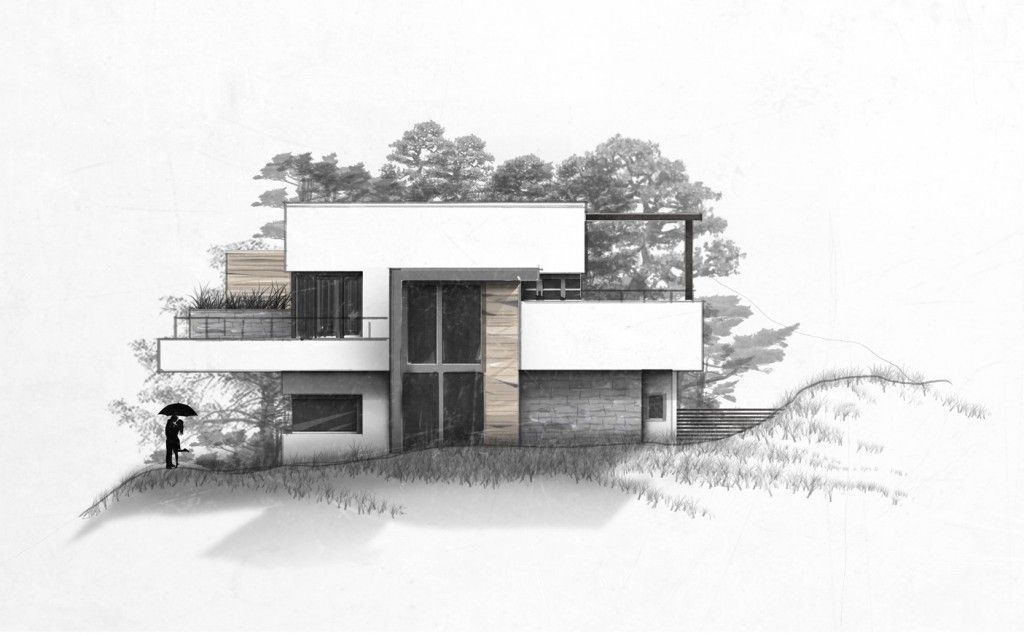 Villamansiondrawingdesignvilla Mansion Drawing Design In 2020 Architecture Sketchbook Architecture Design Sketch Architecture Drawing