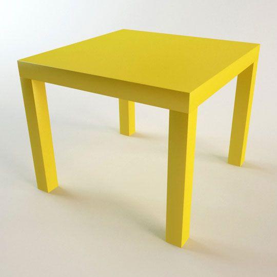 Trucos para conseguir que la mesa Lack más barata de Ikea