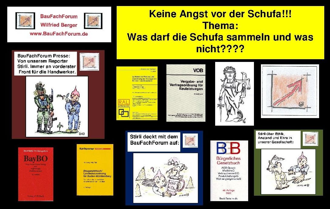 Pin auf BauFachForum, Skandalzeitung, Comic, Pfullendorf
