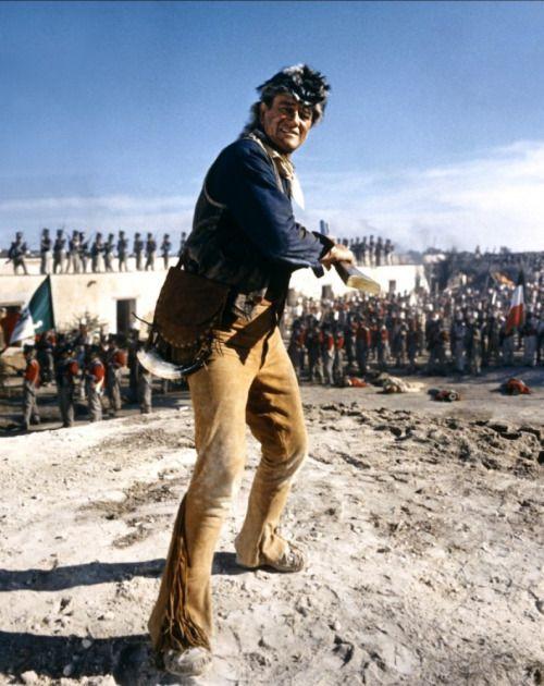 John Wayne In The Alamo 1960 John Wayne John Wayne Movies